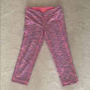 Lilly Pulitzer Luxletic pants in pink space dye
